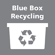 Blue box recycling link image